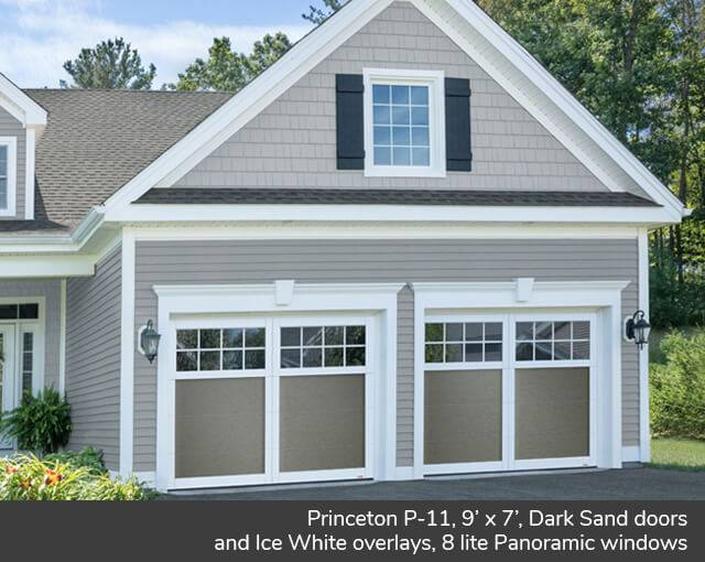 Princeton P 11 Design From Garaga Garage Doors